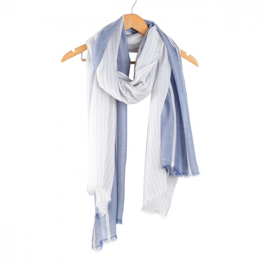 Schal Modal Blau 90 x 190cm