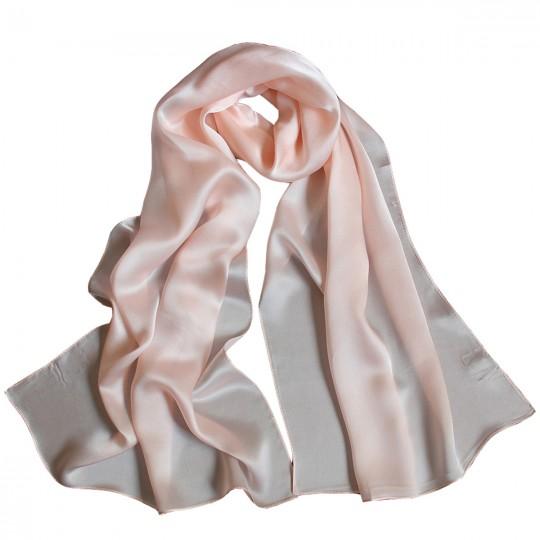 Schal Seiden Rosa 65 x 170cm