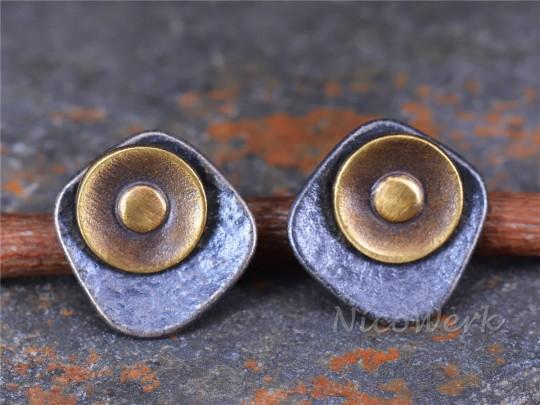 Silber Ohrstecker Vintage