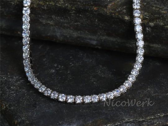 Silberkette Choker