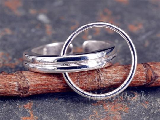 Silberring Kreis