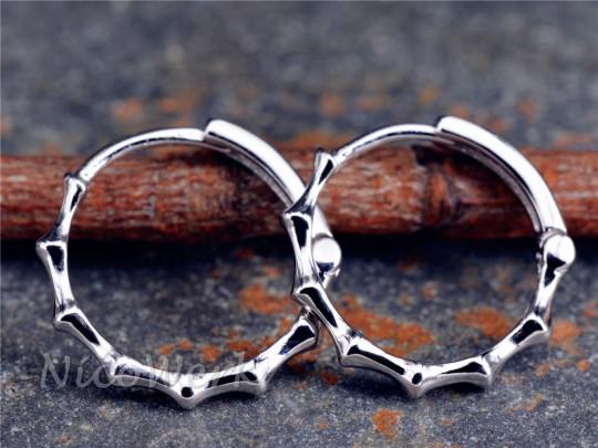 Silber Ohrringe Kreis