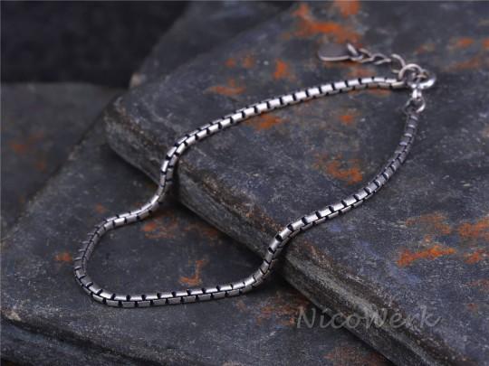 Silberarmband Schlangenkette