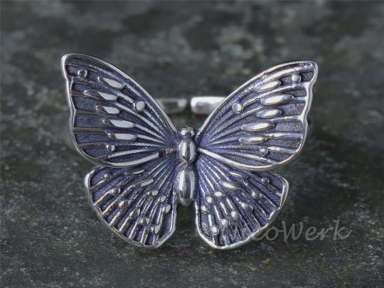 Silberring Schmetterling