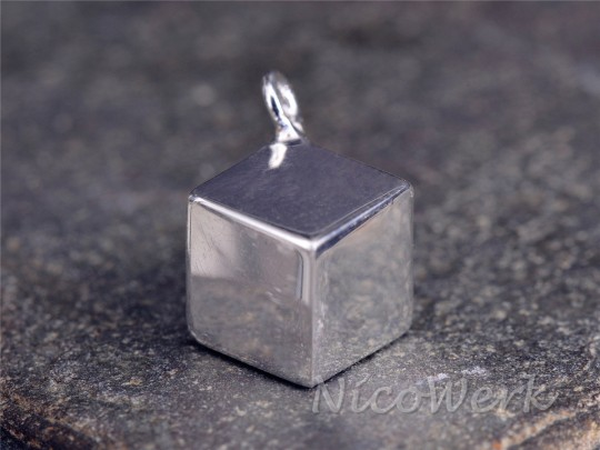 Silberanhänger Würfel
