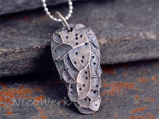 Silberanhänger Stein