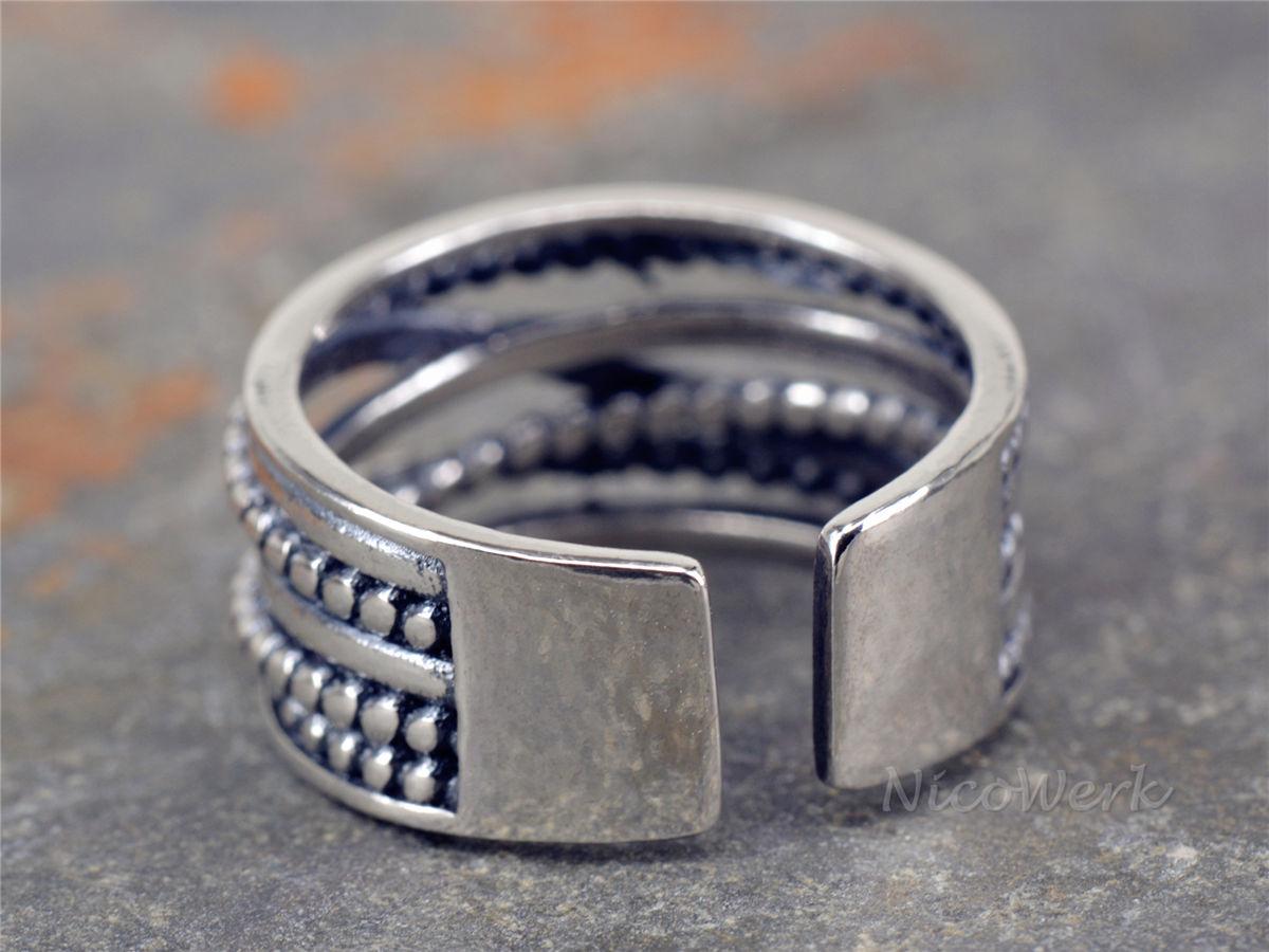 NicoWerk Silberschmuck | Silberring Draht | online kaufen