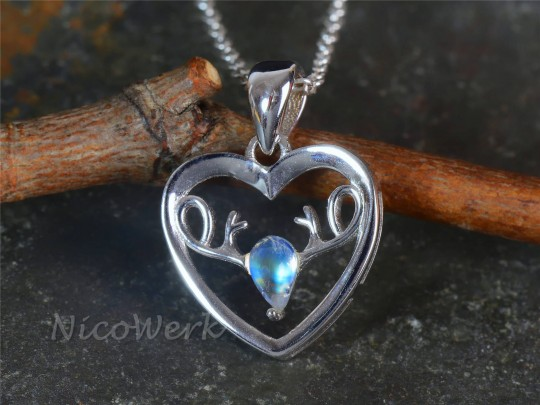 Silberanhänger Herz