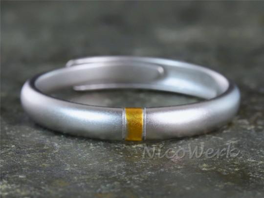 Silberring Schlicht